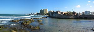 English: Panoramic picture of El Condado, Puer...