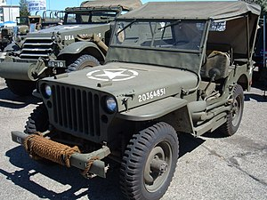 The WWII Willys MB US Army Jeep