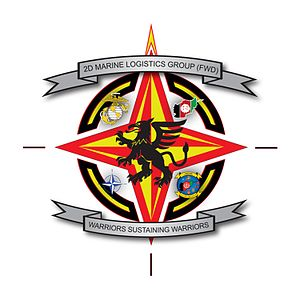 2nd Marine Logistics Group (Forward) Logo