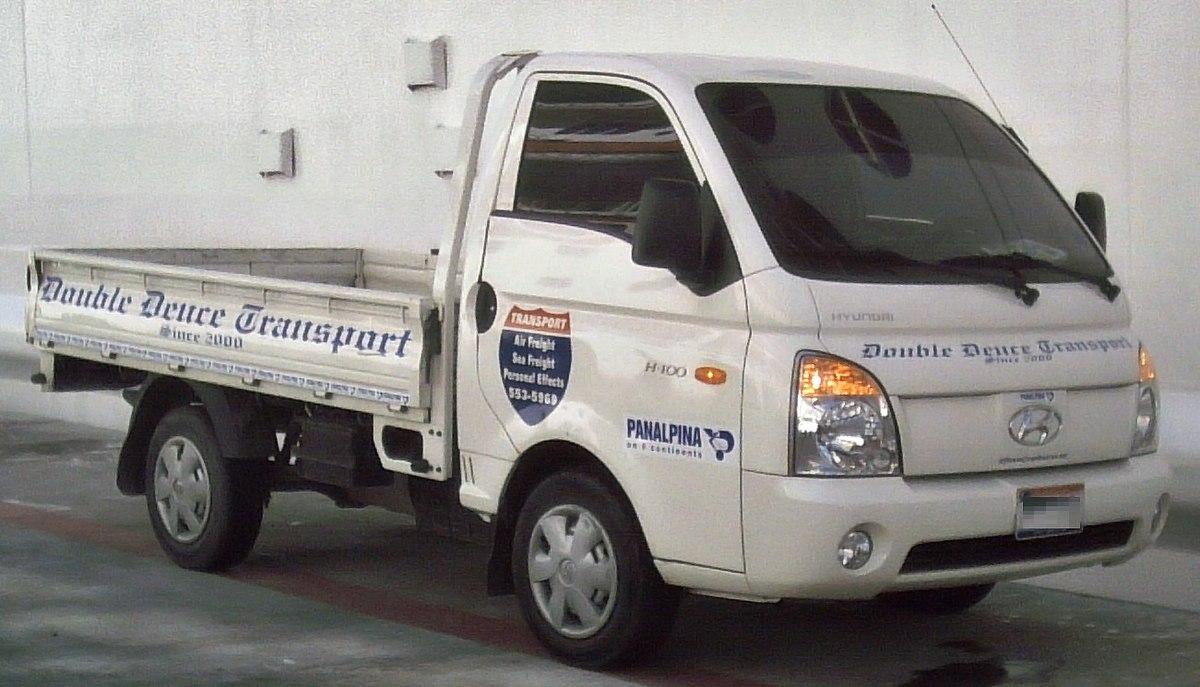 Hyundai H 100 Wikipedia