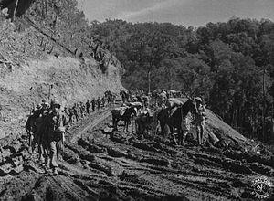 Merrills Marauders Chinese troops on the Ledo ...