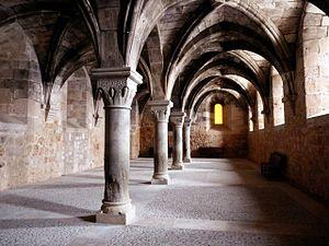 Español: Monasterio de Santa María de Huerta -...