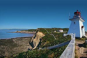 English: Cape Enrage, Bay of Fundy, New Brunsw...