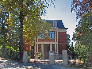 The Nietzsche Archives in Weimar, Germany.
