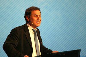 English: Nouriel Roubini, Turkish economist, p...