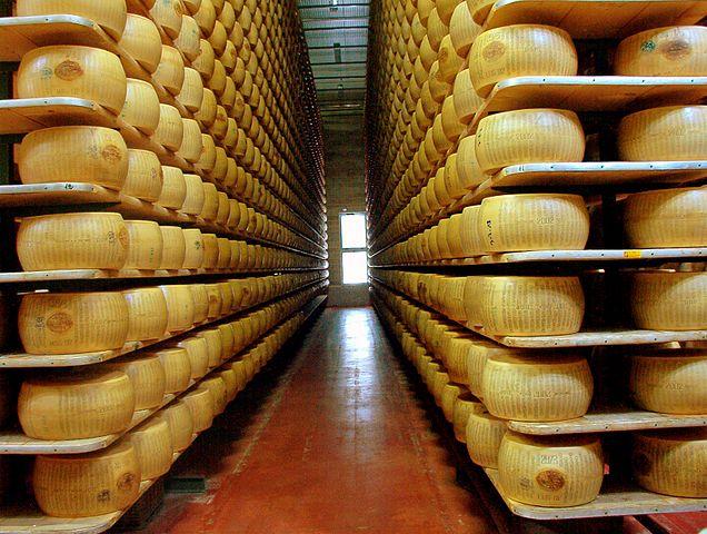 Forme di Parmigiano
