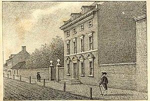 """Residence of Washington in High Street, ..."
