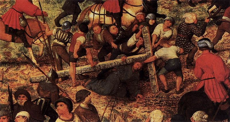 Plik:Pieter Bruegel the Elder - Christ Carrying the Cross (detail) - WGA3473.jpg