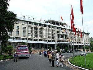 English: Reunification Palace, Saigon/Ho Chi M...