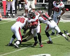 Cato June's first interception as a member of ...