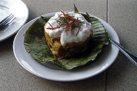Amok, a popular Khmer dish.