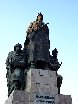 Monument in Arad, Romania help
