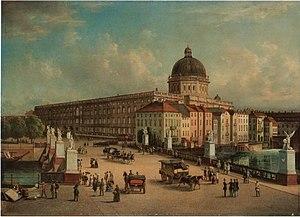 Berlin (Berlin-Mitte), Stadtschloss after 1853