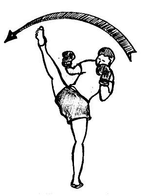 English: Cardio-kickboxing Français : Cardio-k...