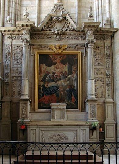 Français : Une chapelle de la cathédrale Saint...