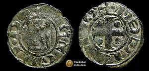 coin of Guy of Lusignan, Cyprus