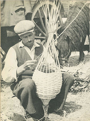 A Gypsy in France one hundred years ago
