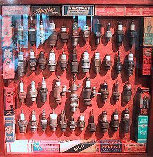 Historic spark plugs