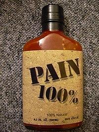 Salsa picante 100% de Habaneros.