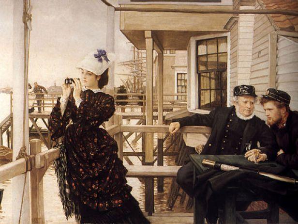 James Tissot - The Captain's Daughter
