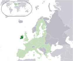 Situación de Irlanda