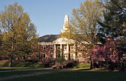 Photograph of Long Hall at Lycoming College