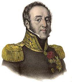 Portrait de Louis-Gabriel Suchet par François-Séraphin Delpech