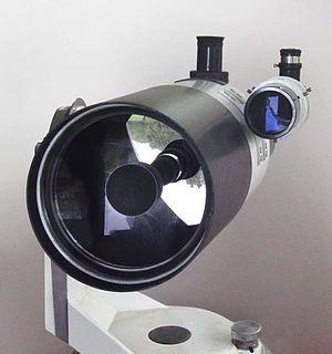 A 150mm aperture Maksutov telescope.