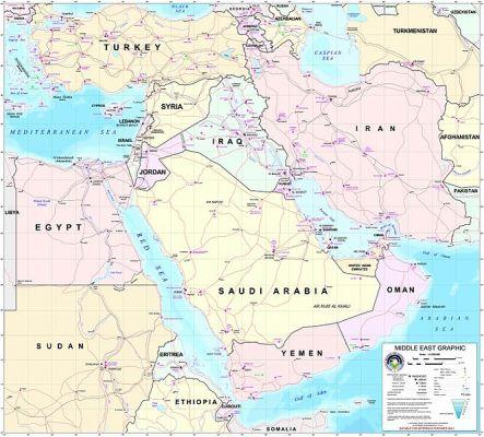 Това е Близкият изток, според класическата теория.В него жинеят немалко народности.