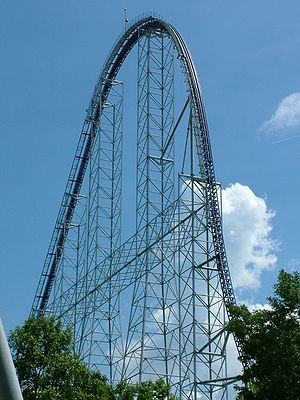 The world's first Giga coaster, the 310 ft tal...