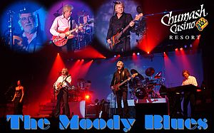 The Moody Blues at the Chumash Casino Resort i...
