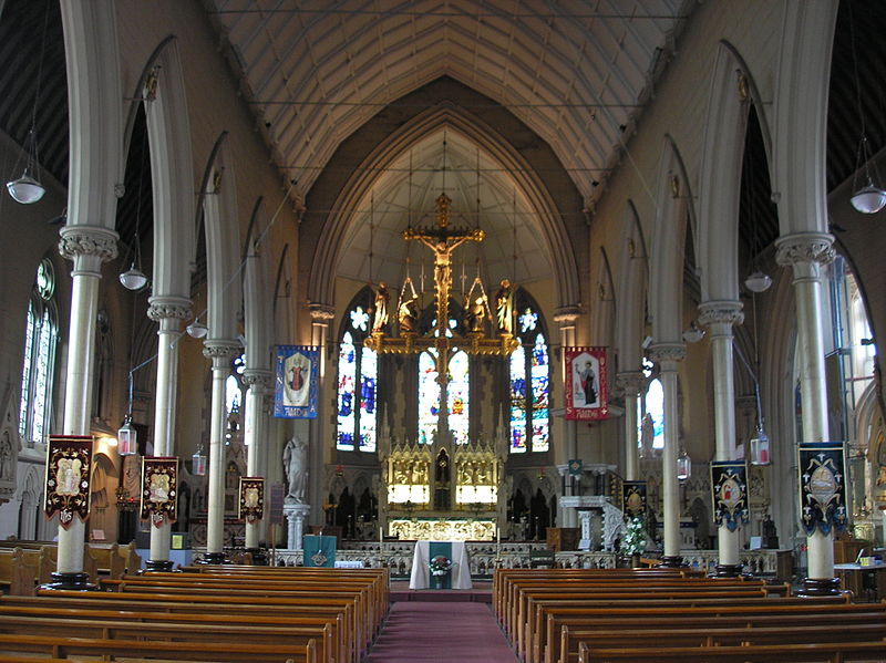 File:Nave of St Francis Xavier Church, Liverpool.JPG