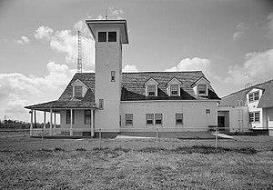 Oregon Inlet Coast Guard Station, Northern end...