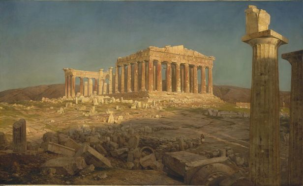 """The Parthenon"" by Frederic Edwin Church"