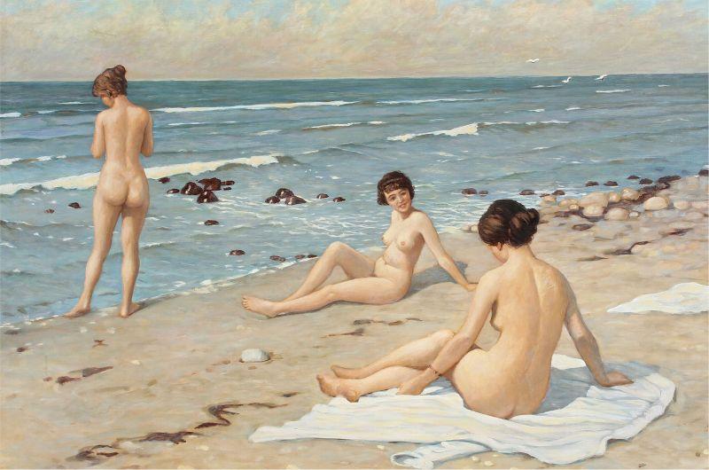 Paul Fischer - Strandparti med badende kvinder (kopi).jpg
