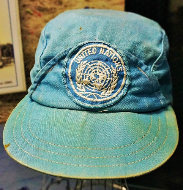 Queensland Police Museum - Joy of Museums - United Nations Cap