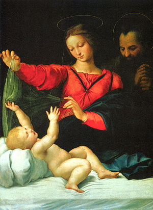 Madonna of Loreto or Madonna of the Veil