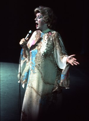 English: Portrait of Rosemary Clooney performing