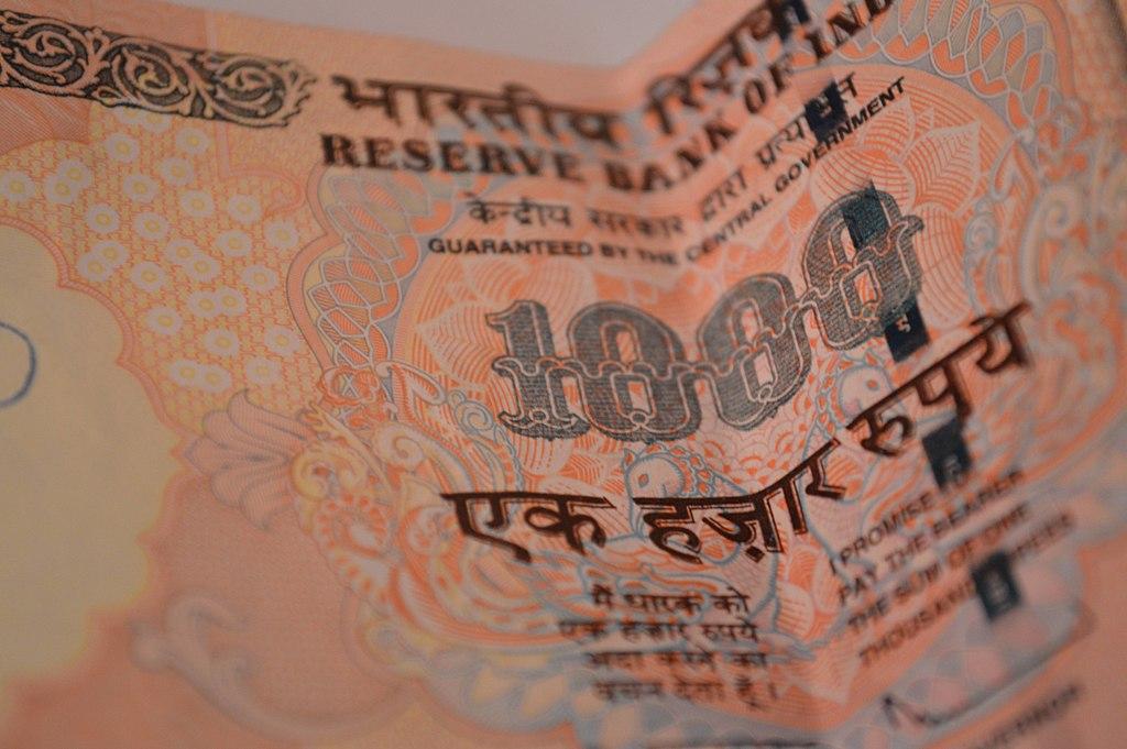 Thousand Rupee Note India