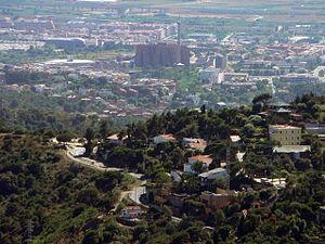 Català: Vista de Sant Just Desvern (Comtat de ...