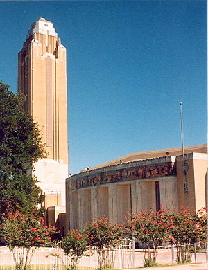 Will Rogers Tower, Fort Worth, 1936