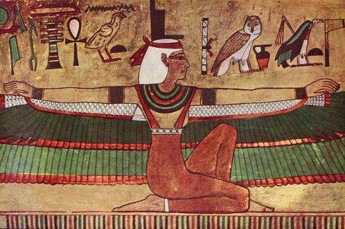 Die Göttin Isis, by Ägyptischer Maler um 1360 v. Chr. 001.jpg