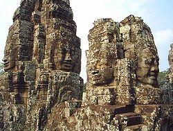 Đền Bayon tại Angkor Thom