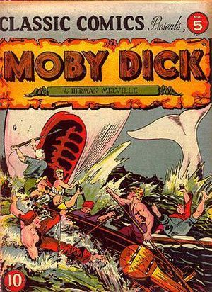 Cover scan of a Classics Comics book
