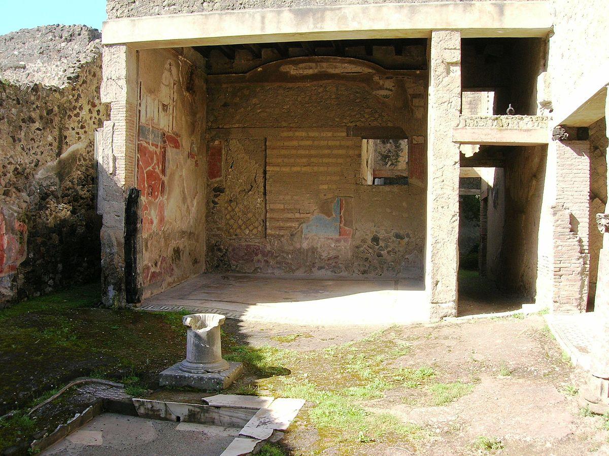 Casa Del Colonnato Tuscanico Wikipedia