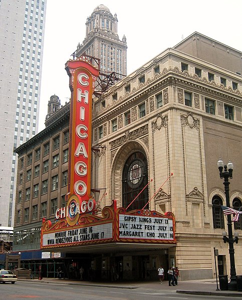 File:Chicago Theater - day.jpg