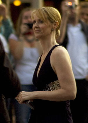 "Cynthia Nixon - Premiere ""Sex and the Cit..."