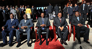 East African Community Head of States. Origina...