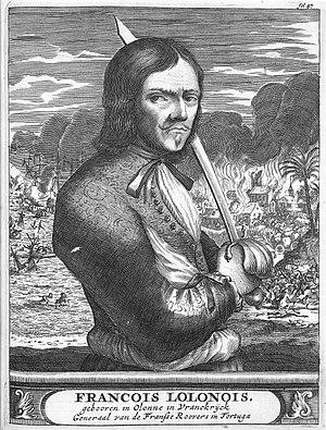 """François l'Olonnais was nicknamed """"Flail ..."""