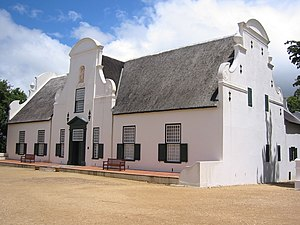 English: Groot Constantia, an historic Cape Du...
